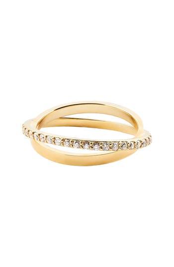 Women's Lana Jewelry Flawless Diamond Twist Ring