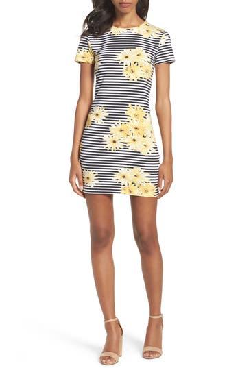 Women's French Connection Sunflower Stripe Sheath Dress