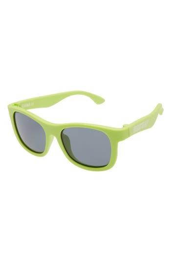 Infant Babiators Original Navigators Sunglasses - Sublime Lime