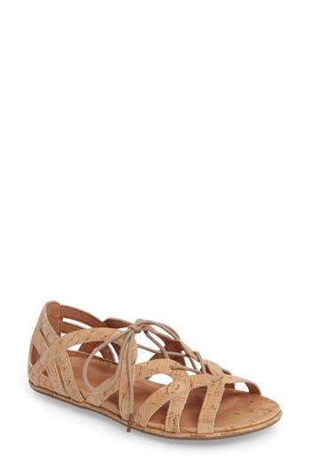 Women's Gentle Souls 'Orly' Lace-Up Sandal, Size 5.5 M - Brown