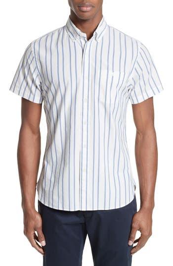 Men's Todd Snyder Trim Fit Stripe Sport Shirt