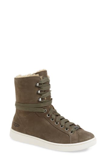 Ugg Starlyn Genuine Shearling Lined Boot- Grey
