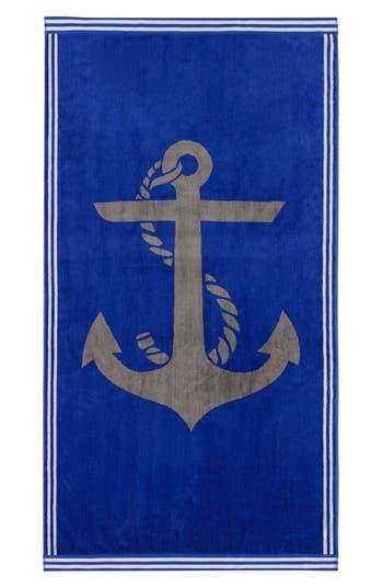 Nautica Ship Ahoy Beach Towel, Size One Size - Blue