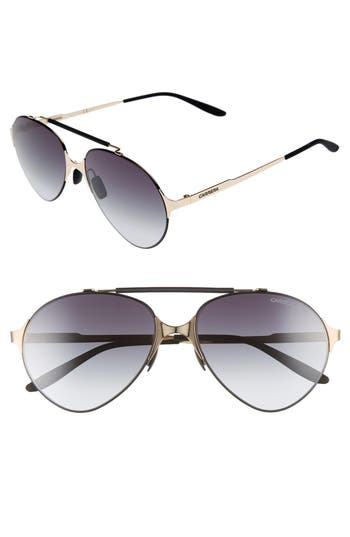 Carrera 5m Gradient Pilot Sunglasses - Gold/ Matte Black