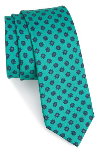 Men's The Tie Bar Major Star Silk Tie, Size Regular - Green