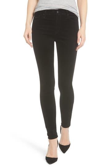 Women's Ag The Farrah High Waist Velvet Jeans
