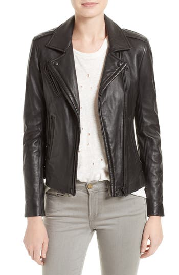 Womens Lambskin Leather Coat | Nordstrom