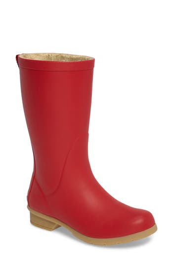 Chooka Bainbridge Rain Boot, Red
