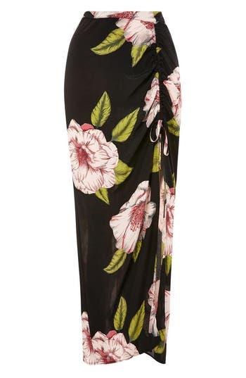 Women's Topshop Bold Bloom Maxi Skirt