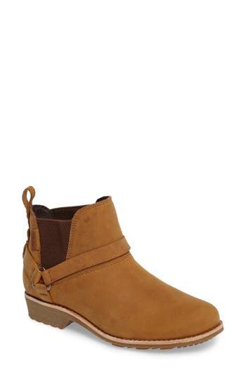 Teva Dina La Vina Dos Waterproof Chelsea Boot- Brown