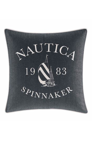 Nautica Heritage Accent Pillow, Size One Size - Blue