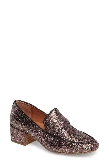 Women's Gentle Souls Eliott Block Heel Loafer