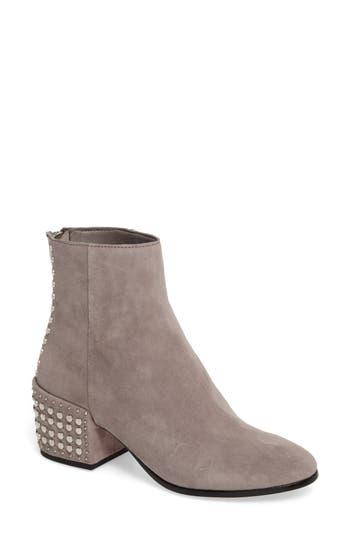 Dolce Vita Mazey Block Heel Bootie, Grey