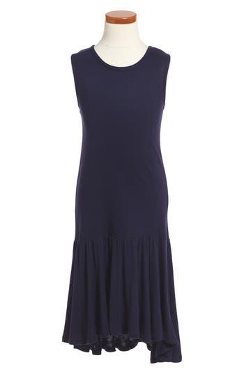 1920s Children Fashions: Girls, Boys, Baby Costumes Girls Tucker  Tate Drop Waist Dress Size XL 14-16 - Blue $20.98 AT vintagedancer.com