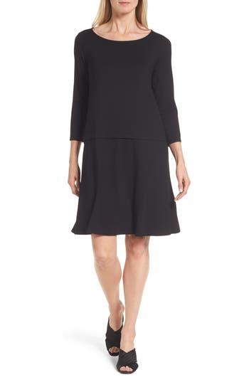 Women's Eileen Fisher Drop-Waist Jersey Dress