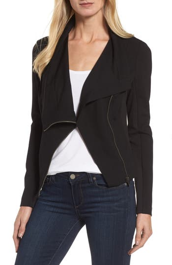 Women's Two By Vince Camuto Ponte Moto Jacket