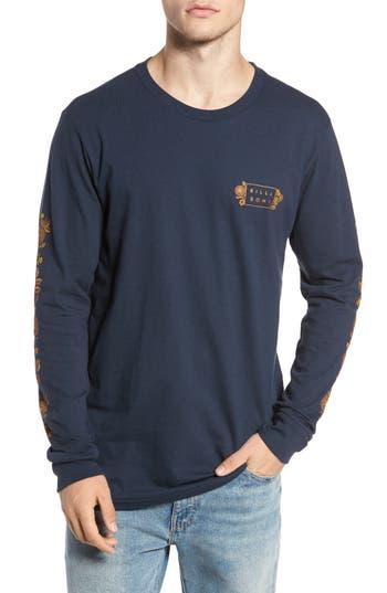 Men's Billabong Mandala Long Sleeve T-Shirt