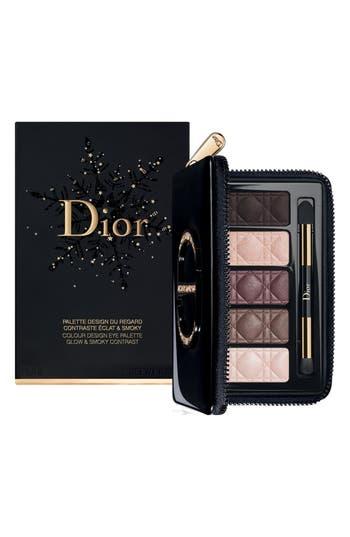Dior Glow & Smoky Colour Design Eye Palette - No Color