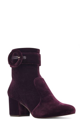 Nine West Quilby Bootie, Purple