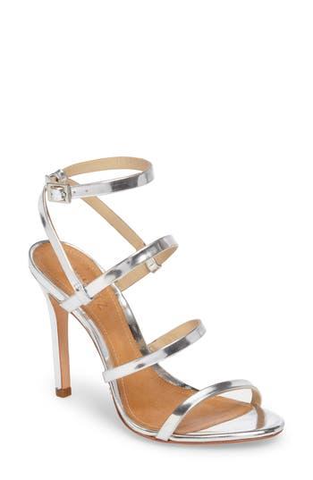 Women's Schutz Ilara Strappy Sandal, Size 6 M - Metallic
