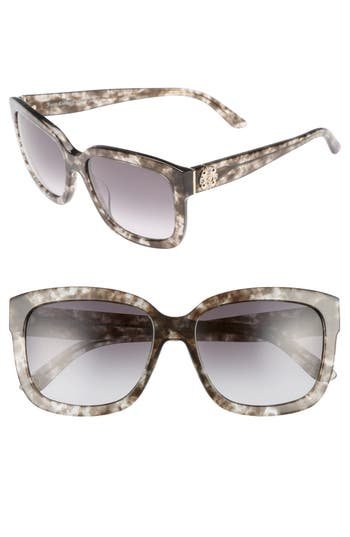 Women's Juicy Couture Black Label 55Mm Square Sunglasses -