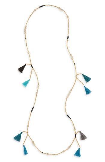 Women's Panacea Multi Tassel Beaded Necklace