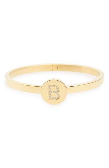 Women's Lulu Dk Initial Bangle Bracelet