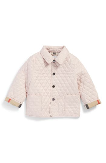 Infant Girl's Burberry Colin Quilted Jacket