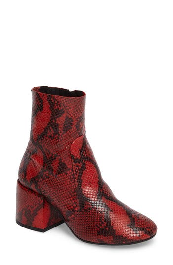 Jeffrey Campbell Ashcroft Bootie Red