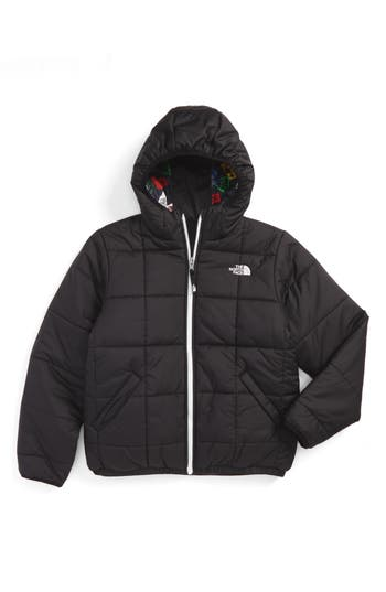 Boy's The North Face Perrito Reversible Water Repellent Heatseeker™ Insulated Jacket