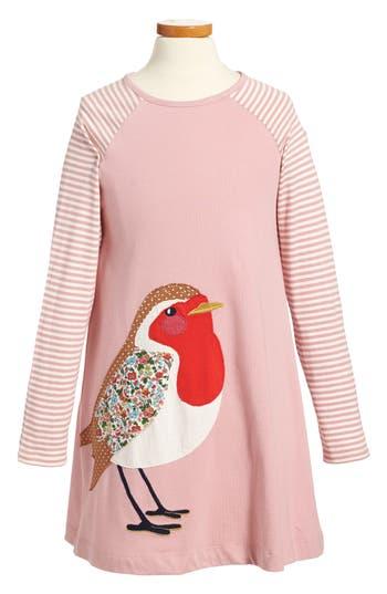 Girl's Mini Boden Big Appliqué Jersey Dress