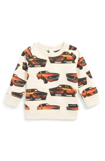 Infant Boy's Rock Your Baby Eat My Dust Sweatshirt