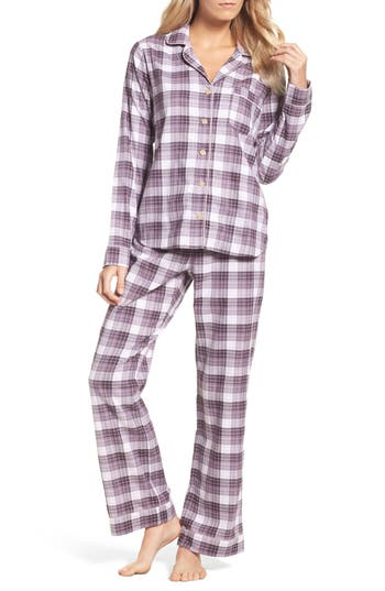 Ugg Raven Plaid Cotton Pajamas In Nightshade  595fe8a7d