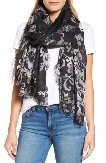 Women's Nordstrom Heirloom Damask Cashmere & Silk Scarf