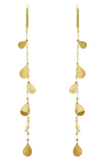 Women's Lana Jewelry Teardrop Linear Drop Earrings