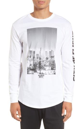 Nike Jordan City Of Flight T-Shirt, White