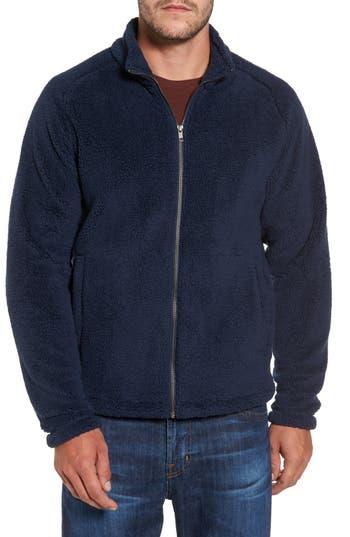 Nordstrom Shop Polar Fleece Jacket, Blue