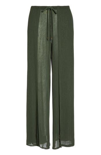 Women's Robin Piccone Francesca Wide Leg Cover-Up Pants