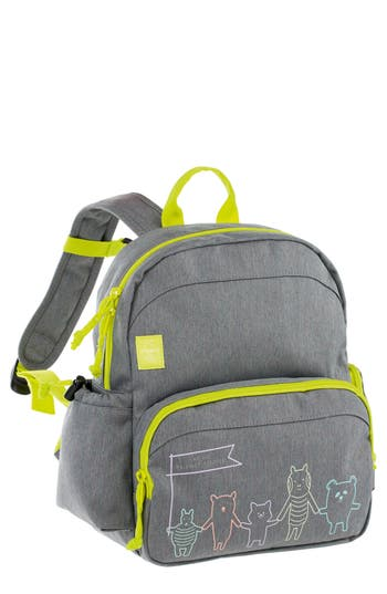 Toddler Lassig Medium About Friends Backpack - Grey