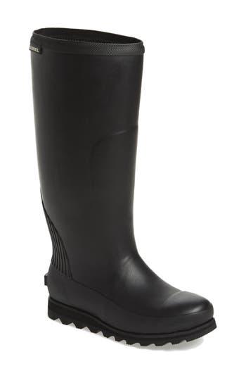 Sorel Joan Tall Rain Boot, Black