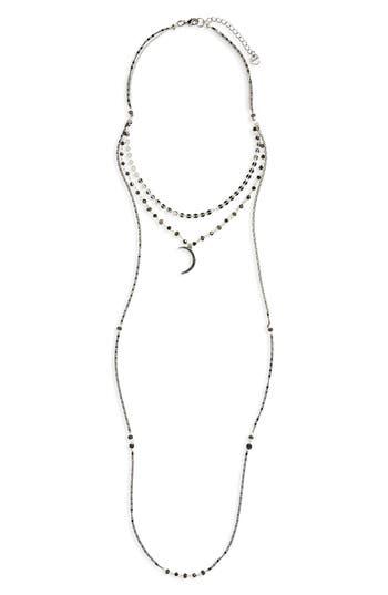 Women's Nakamol Design Layered Moon Necklace