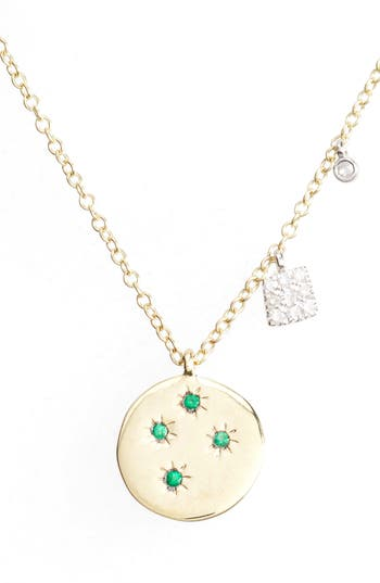 Women's Meira T Diamond & Gemstone Pendant Necklace