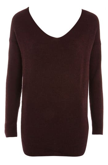 Women's Topshop Twist Back Sweater