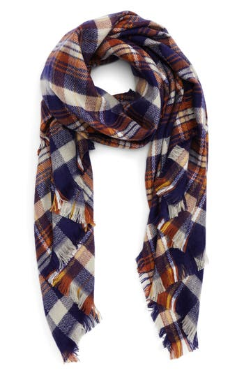 Women's Bp. Plaid Oblong Scarf