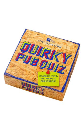 Talking Tables Host Your Own Quirky Pub Quiz Game, Size One Size - Purple