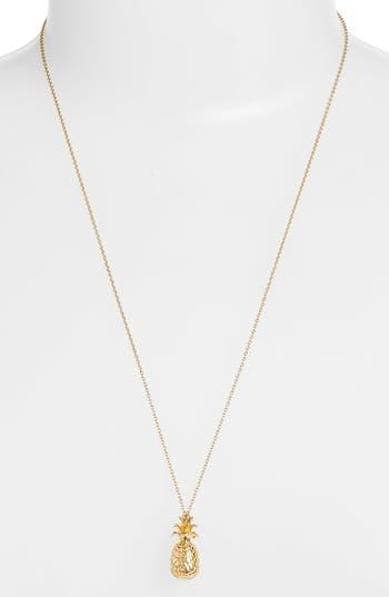 Women's Estella Bartlett Pineapple Cham Pendant Necklace