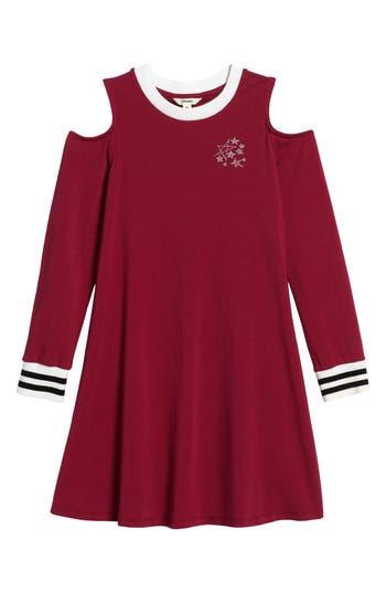 Girl's Maddie Cold Shoulder Dress