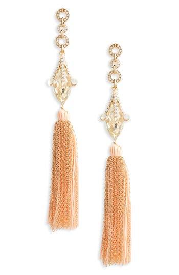 Women's Leith Crystal Fringe Earrings