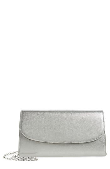 Nordstrom Leather Clutch - Pink