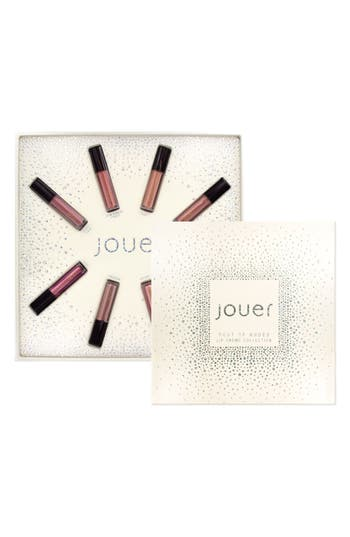 Jouer Best Of Nudes Mini Long-Wear Lip Crème Liquid Lipstick Collection - No Color